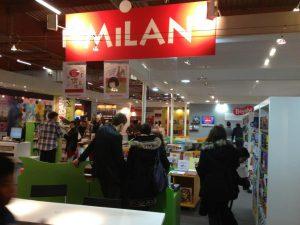 Le stand Milan au Salon du livre et de la presse jeunesse de Montreuil