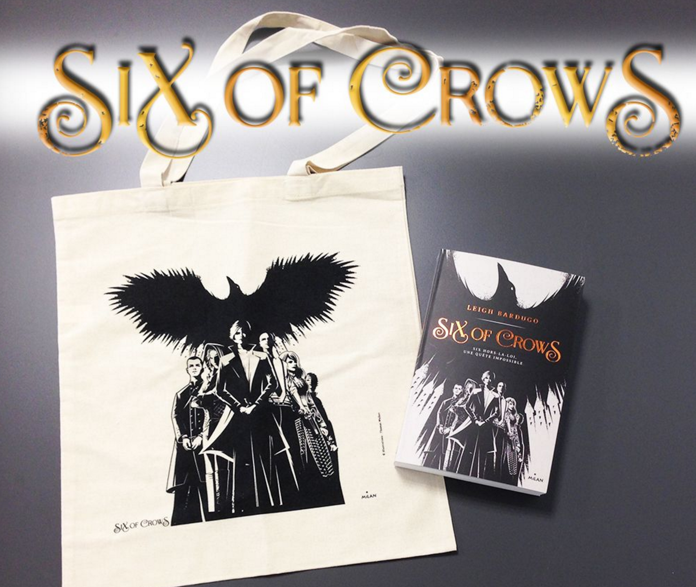 Image de l'article « Concours Six of Crows »