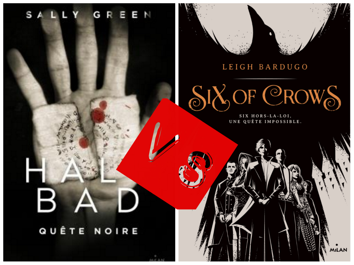 Image de l'article « Half Bad vs Six of Crows »