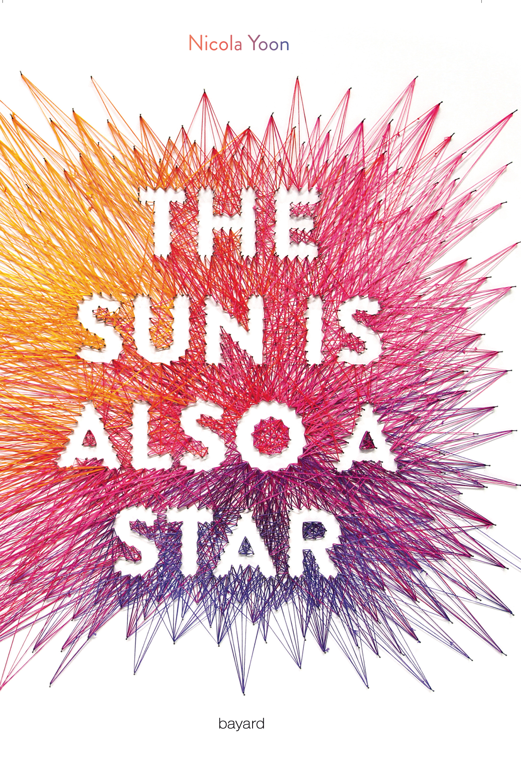 Image de l'article « The sun is also a star : le second roman de Nicola Yoon »