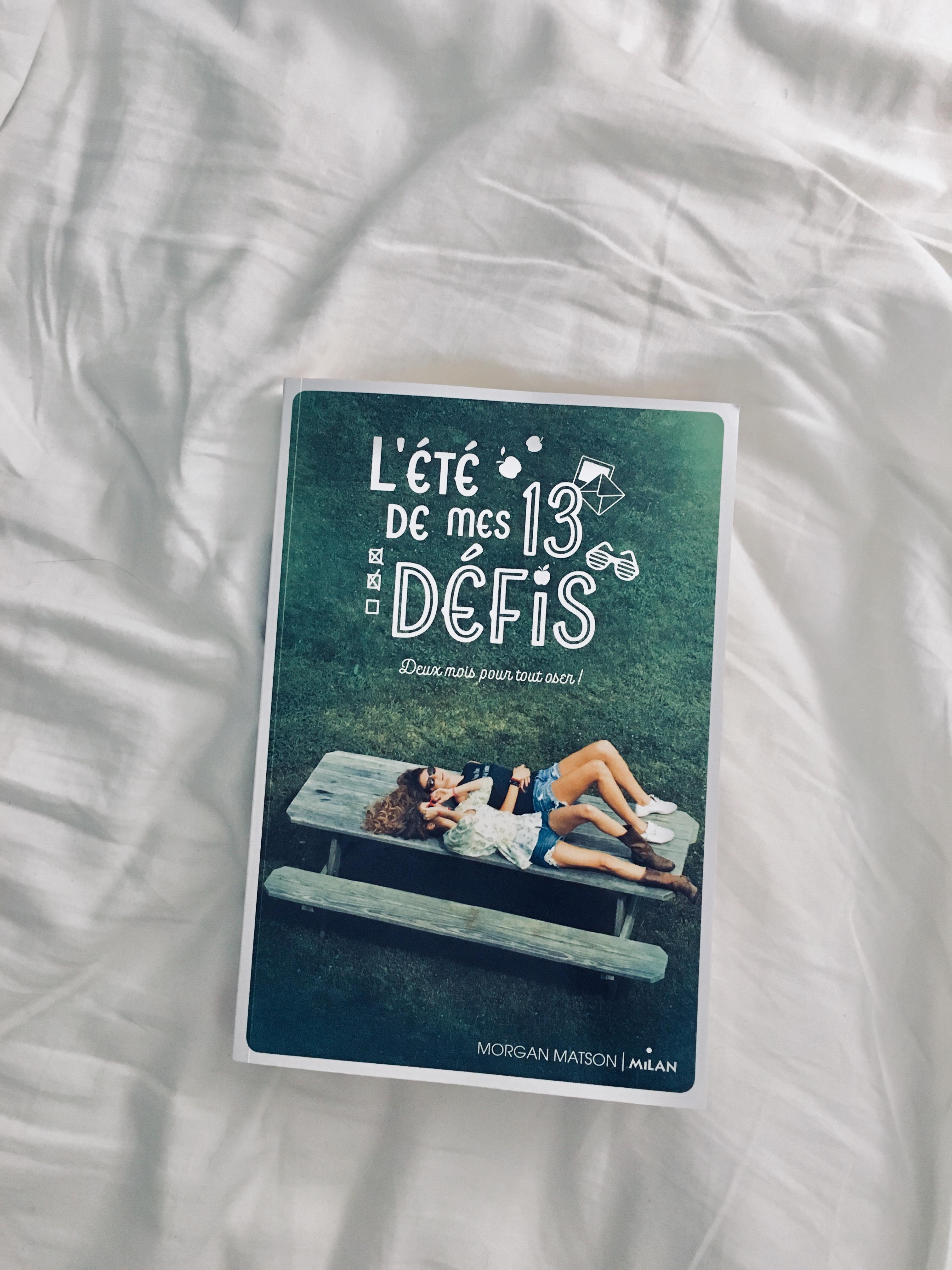 Image de l'article «L'ÉTÉ DE MES 13 DÉFIS de Morgan Matson: Un livre parfait pour cet été!»