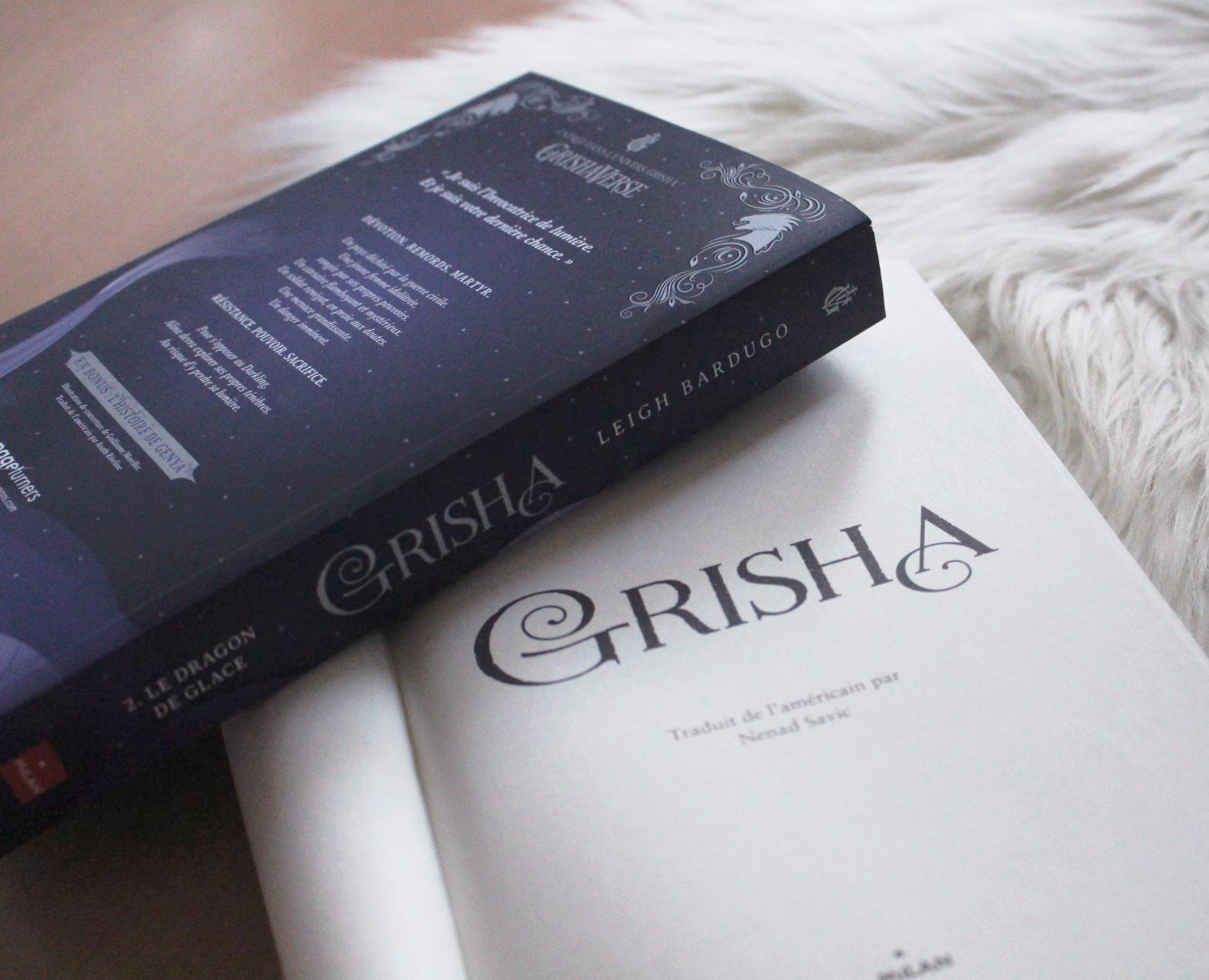Image de l'article «Grisha tome 2: Le dragon de glace»