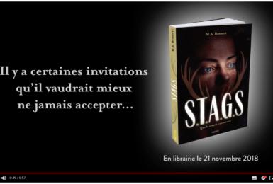 Image de l'article «Découvrez le book trailer de S.T.A.G.S!»