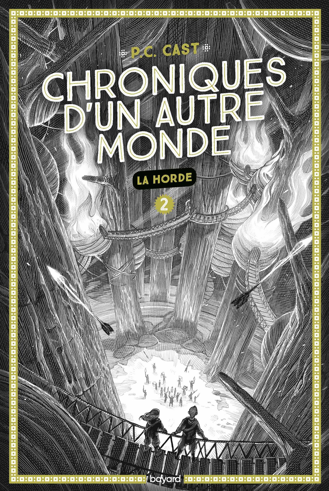Image de l'article «Chroniques d'un autre monde: La horde de P.C Cast»