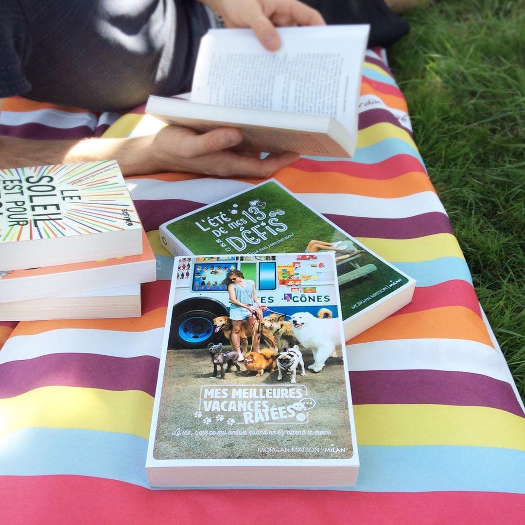 Image de l'article «Une lecture fun et légère pour l'été!»