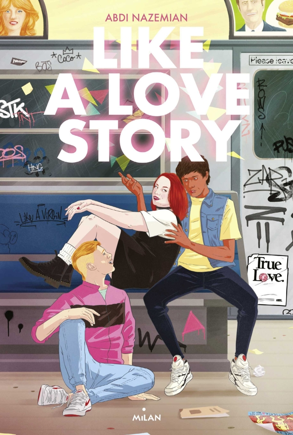 Image de l'article « Like a Love Story d'Abdi Nazemian »
