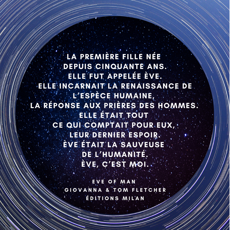Image de l'article « 💫 Eve of Man 💫  de Giovanna et Tom Fletcher (teaser) »